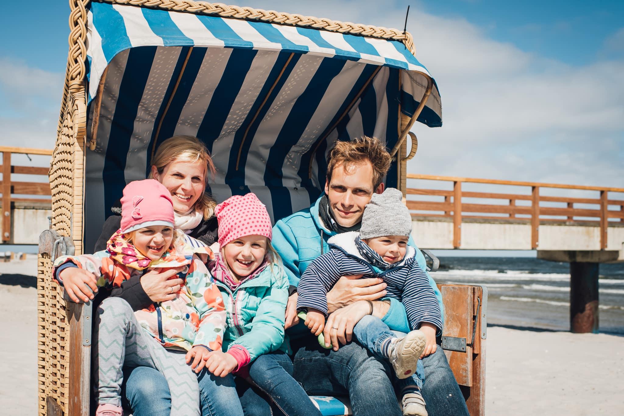 Familienfotografie  Baby, Kind und Meer: Fotos an der Ostsee