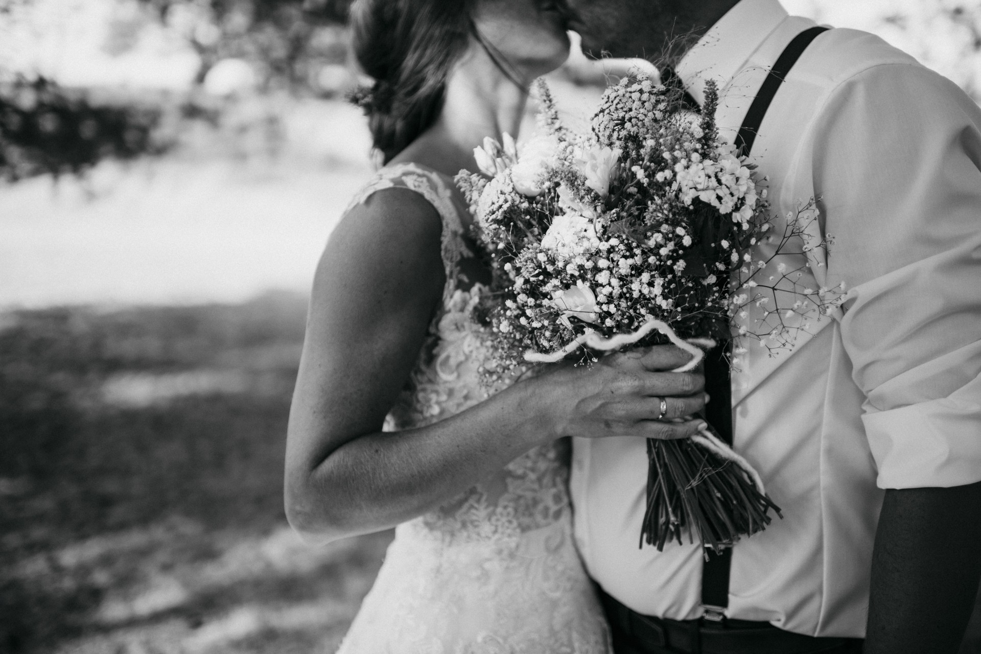 Hochzeit  Hochzeitsfotos in der Heide